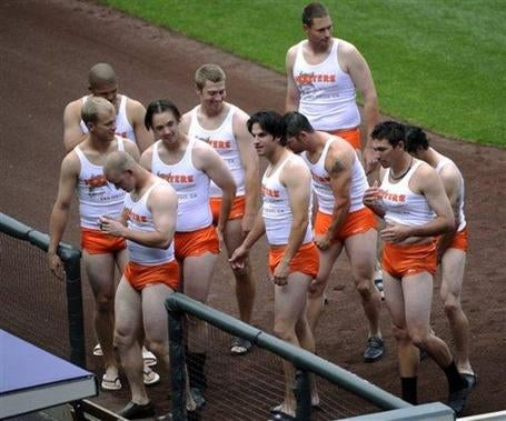 Possibly The Most Disturbing Baseball Hazing Photo You'll Ever See
