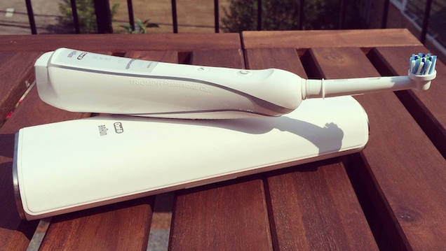 I Brushed My Teeth With the World's First Bluetooth Toothbrush