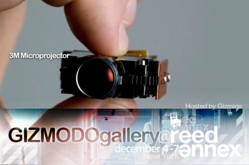 At Gizmodo Gallery: Tiny Projectors That Fit In Your Hand Or Mouth!