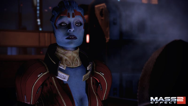 Mass Effect 2's New Blue Girl Kicks Ass