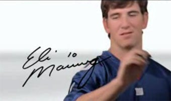 Having Eli Manning's Autograph More Humiliating Than Losing To Eli Manning