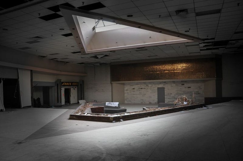 This Abandoned Wasteland Was Once America's Largest Mall
