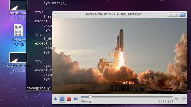 Embed a TrueCrypt Volume In A Playable Video File