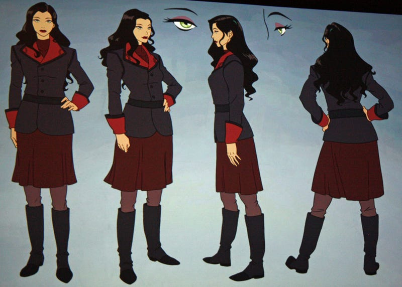 Beautiful concept art illuminates the upcoming Book 2 of Legend of Korra
