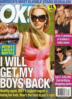 This Week In Tabloids: TomKat Split; Ashlee Simpson's Engaged & Pregnant; Mariah Carey Is Slim