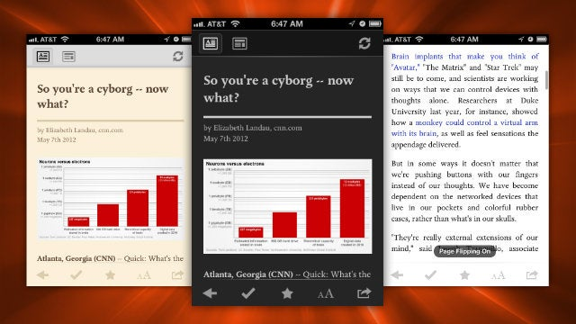 Pocket Updates with a Page Flipping Mode, Better Night Reading, and Expanded Video Support
