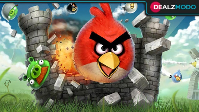 Angry Birds For Free For The First Time Ever Is Your Deal of the Day