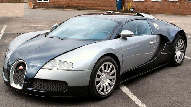 Last Bugatti Veyron sold, other than the other ones