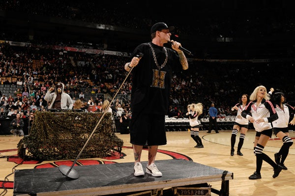 Vanilla Ice Will Perform At The Timberwolves Game Friday