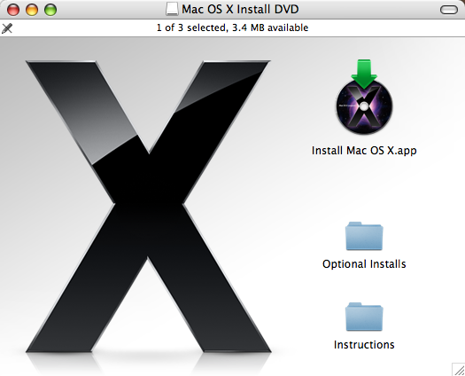 Upgrade Mac OS X to Leopard