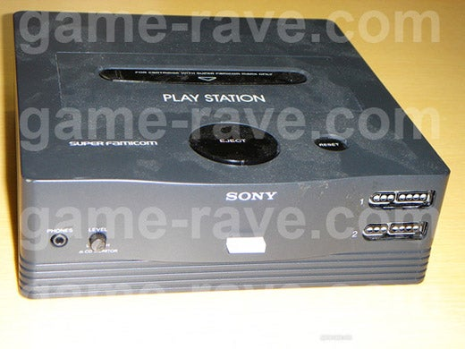 Super Famicom/PlayStation Prototype?