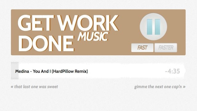 GetWorkDoneMusic Keeps You Motivated with Work-Focused Tunes All Day Long