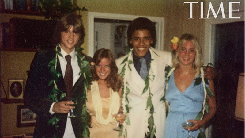 Check Out Obama's Adorable Prom Pic