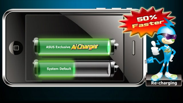 Asus Ai Charger Quickly Charges Your iPhone or iPad Over a Regular USB Port