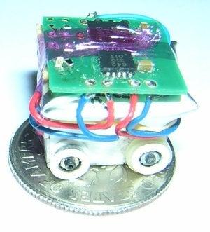 Pico Bot: Small as a Quarter, Autonomous, Sensing, But Sadly Destined for the Vapor Bin