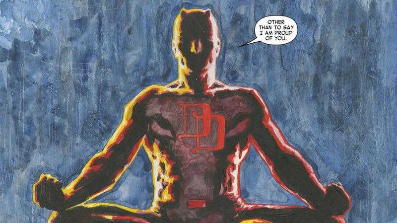 Daredevil Gets Emotional in My Favorite Comics Panel This Week
