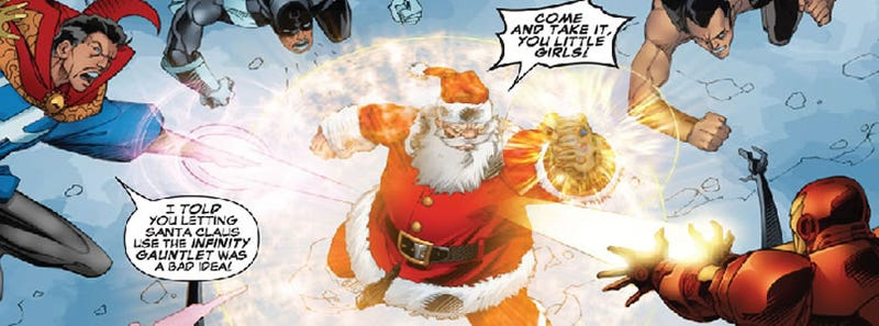 Get Some Holiday Cheer For Free From Marvel