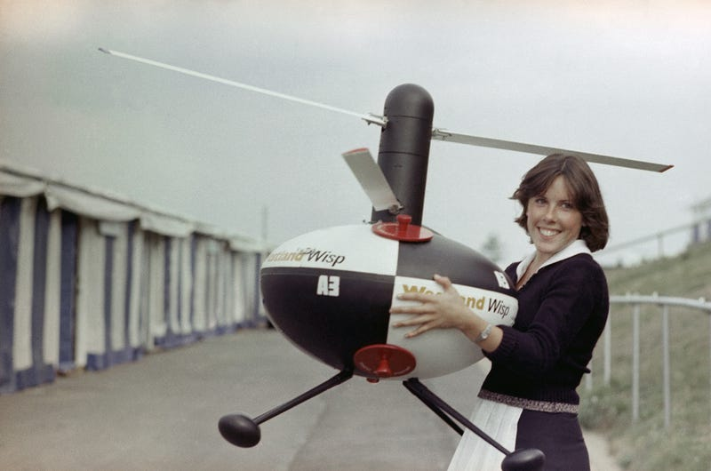 The Police Surveillance Drone of 1976