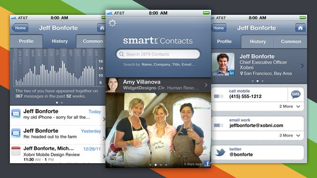 Smartr by Xobni Is a Powerful Contact Manager for Your iPhone