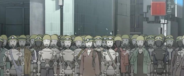 Robôs japoneses em perigo de ser substituídos por trabalhadores Humanos