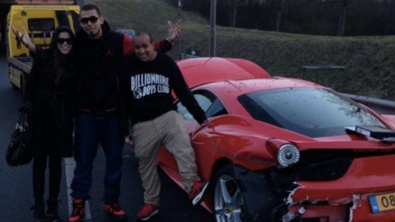 Netherlands' DJ Afrojack Learns Why You 'Don't Drive A Ferrari In Shit Weather' (UPDATED)