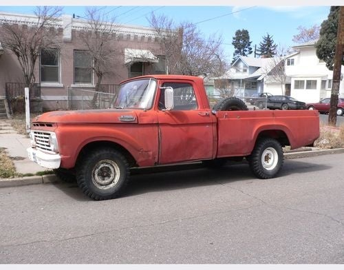 1963 Ford Pickup Down On The Denver Street