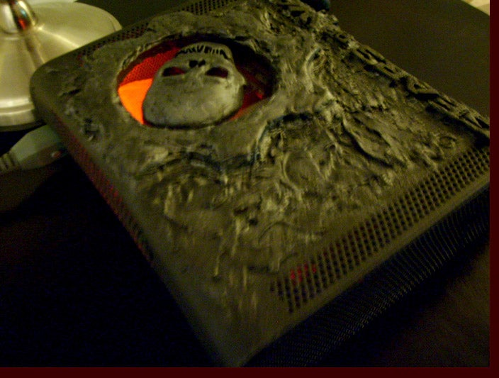 Someone's Dragon Collection Melted on this Gears of War Xbox 360