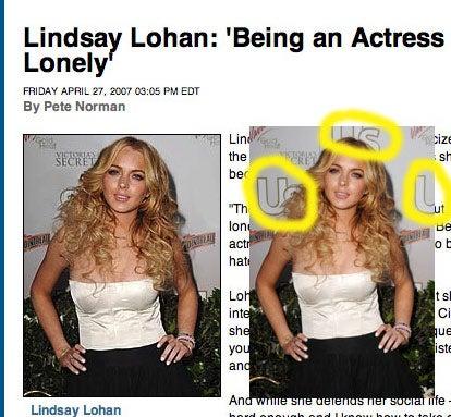 Lindsay Lohan Is Anywhere