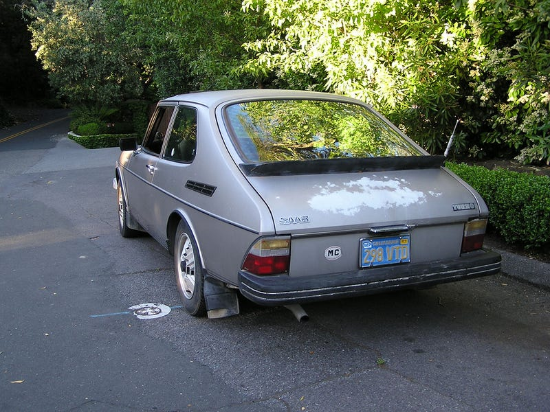 For $8,900, not the same old Saab and dance