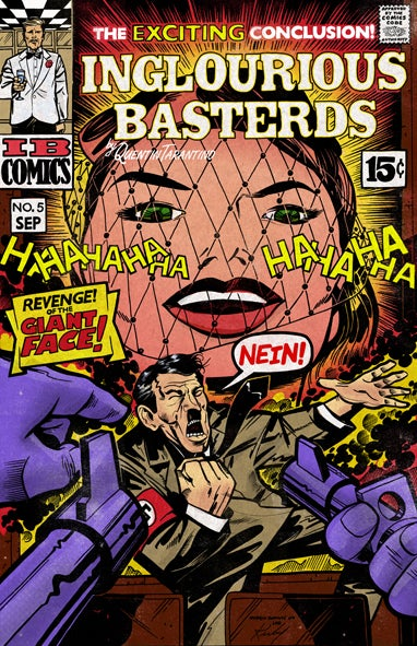 In an Alternate Universe, Inglouirous Basterds is Already a Comic