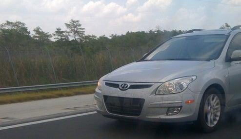 2009 Hyundai Elantra Touring Spied Prowling Florida For Sexy Octogenarians