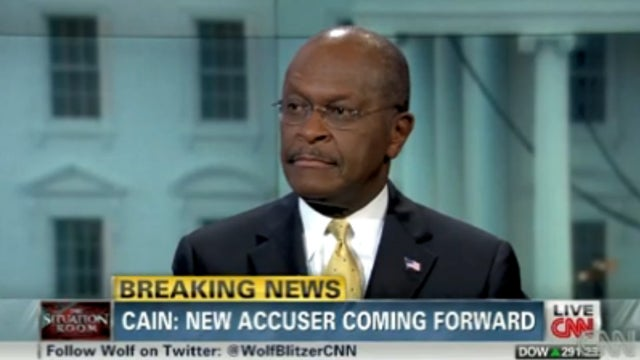 Herman Cain Accuses Woman of Accusing Him of Having An Affair