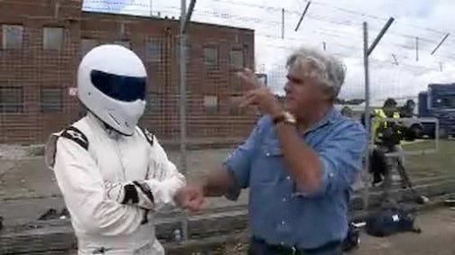 Jay Leno Meets The Stig
