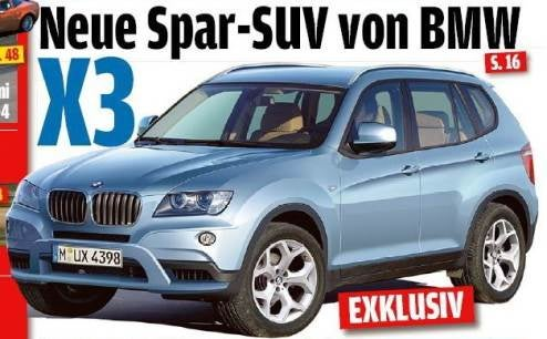 Autobild Speculates On Upcoming BMW X3, X1