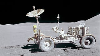 How much would the Lunar Rover go for at auction?