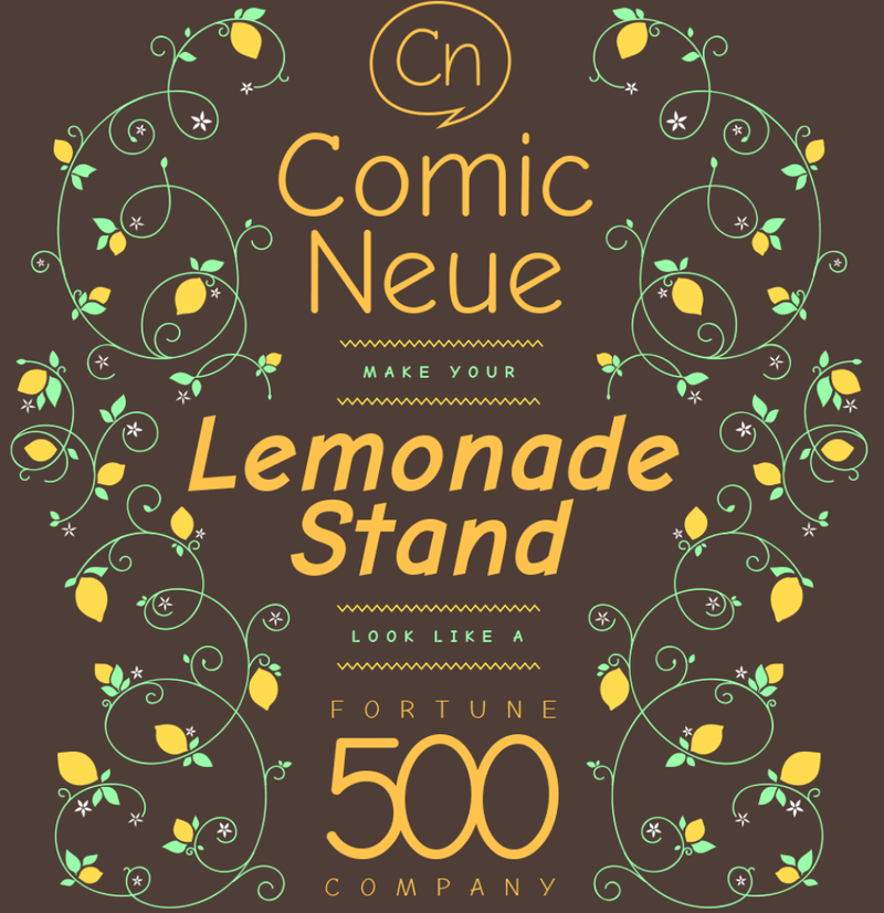 Comic Neue Is Nothing More Than the Demon Bastard Child of Comic Sans