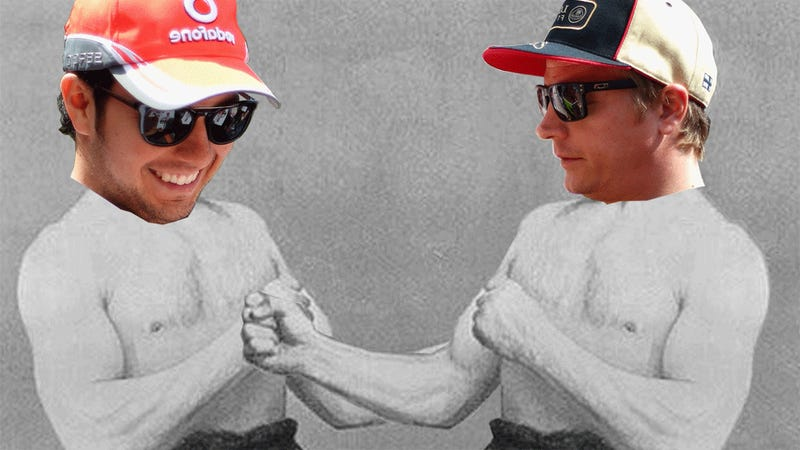 Kimi Raikkonen Says Sergio Perez Deserves A Punch In The Face