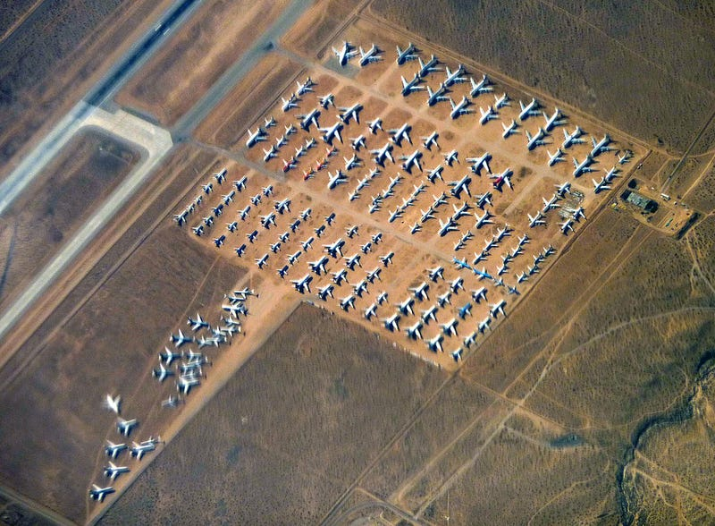 Why Aircraft Boneyards Exist in the First Place