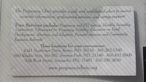 Sketchy Crisis Pregnancy Center Services Now Available to Barnes & Noble Shoppers