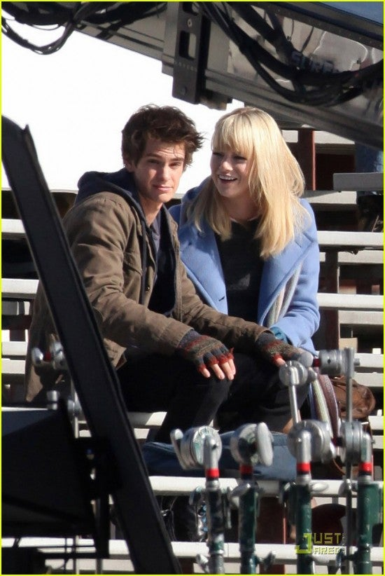 Spider-Man Reboot Set Photos