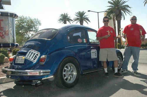 Beetleball 2009 Long Beach to Las Vegas is in the Farfegnugen history books.