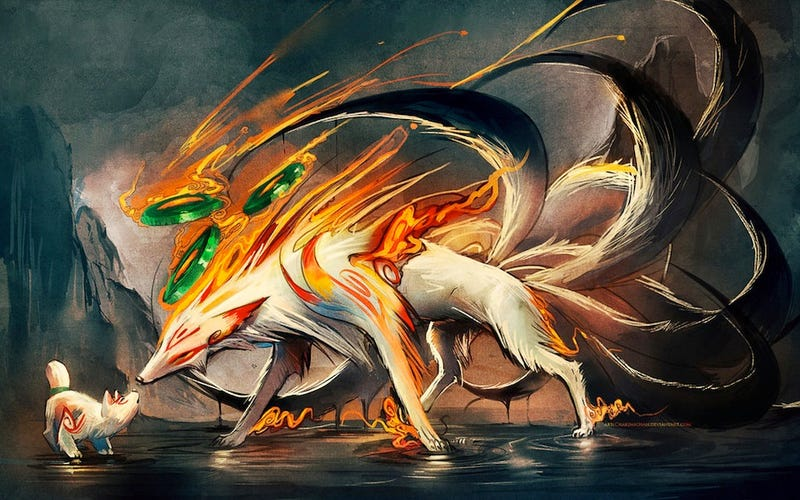 Okami-Inspired Fan Art Will Be Your New Wallpaper