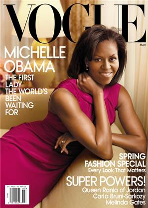 Michelle Obama's Vogue Cover: It's Out & It's Pretty Awesome