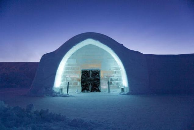 How to Build an Ice Hotel