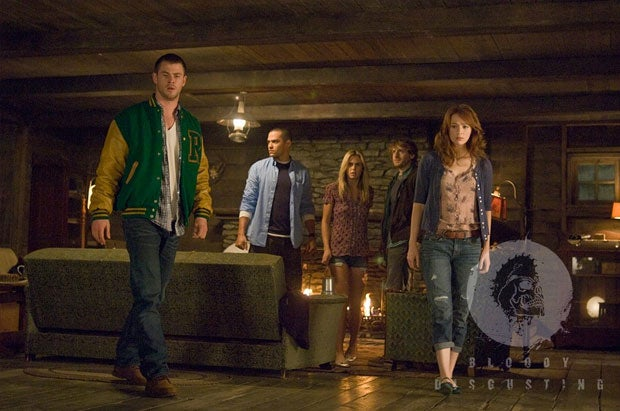 First Still and Poster from The Cabin in the Woods