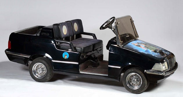 Gadgets From the Michael Jackson Auction: From Robot Heads to Peter Pan Golf Carts