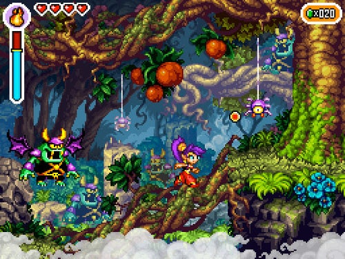 Shantae: Risky's Revenge Clearly The Prettiest Thing To Hit DSiWare