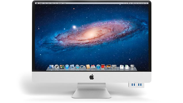 Fix Your iMac By Adding Four USB Ports To the Front Where They Should Be