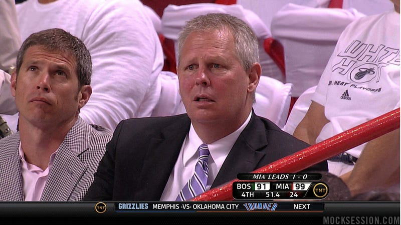 Danny Ainge Is Horrified By What He Sees