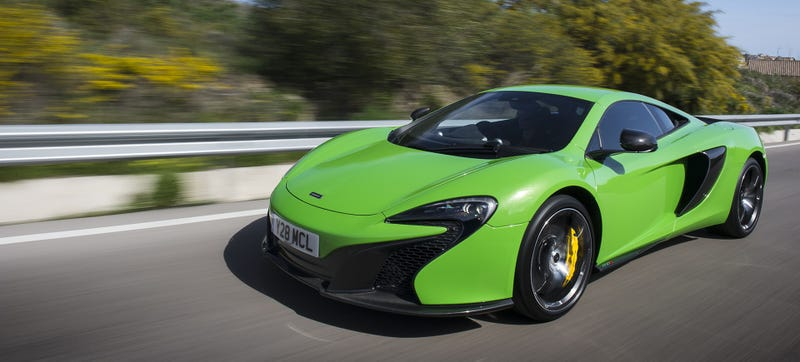 Here's What A Pro Driver Thinks Of The McLaren 650S